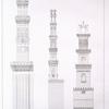 Parallèle des minarets des principales mosquées