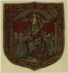 [Textile depiction of the