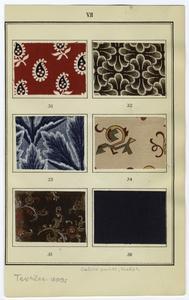 Calico prints, English.