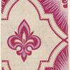 Fleur-De-Lis Textile Design.]