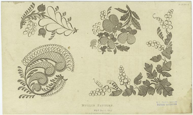 Muslin pattern.
