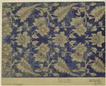 English, 1850s silk broca