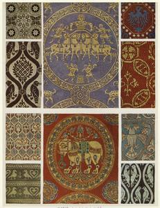 Byzantine textiles.