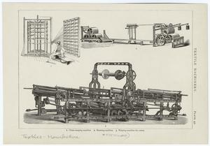 Textile machinery.