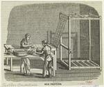 Silk printing.