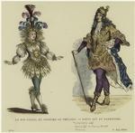 Le Roi Soleil En Costume De Théatre ; Louis Xiv Au Carrousel.