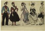 Costumes For A Masked Ball.