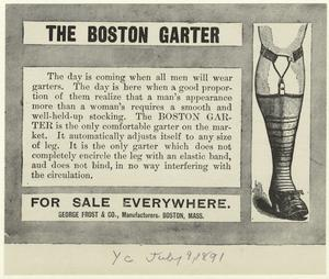 The Boston garter.