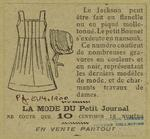 [Girls' dress and bonnet,