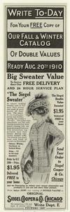 The Siegel sweater.