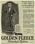 Golden Fleece Blanket Robes.