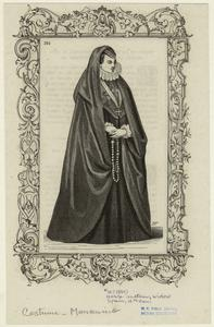 Noble matron, widow, Spain, 16th cen.