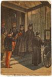Mme Félix Faure Quittant L'Elysée.