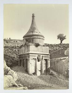 Pillar of Absalom, Palestine