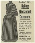 Ladies' Silk Rubber Mackintosh Garments.