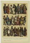 Edad Moderna--Trajes Rusos, Polacos, Húngaros Y Escoceses Del Siglo Xviii.