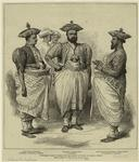 Cinghalese Chiefs Waiting For The Prince Of Wales At Kandy, Ceylon.