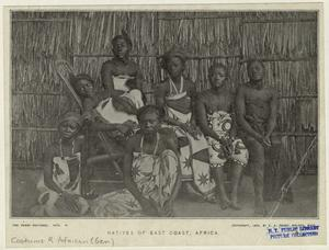 Natives of east coast, Africa.