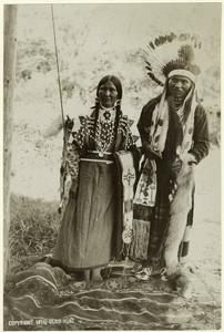 Nez Perce man and wife.