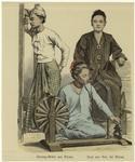 Saron-Weber aus Birma ; F