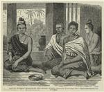 South Burman Nobleman And Wives.