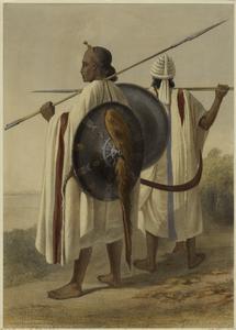 Abyssinian costume, etc.