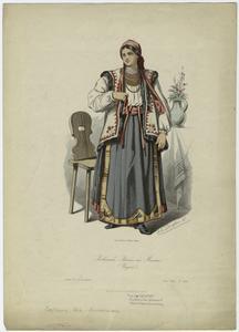 Ruthenische Bäuerin aus Marmiras (Ungarn).