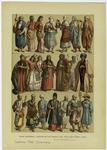 Edad Moderna : Trajes De Los Persas Del Siglo Xix (Primera Lamina).