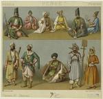 Persian Men And Women.