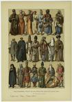 Edad Moderna : Trajes De Los Persas Del Siglo Xix (Segunda Lámina).