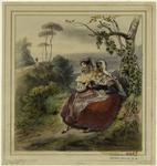 Women sitting under a tree conversing
