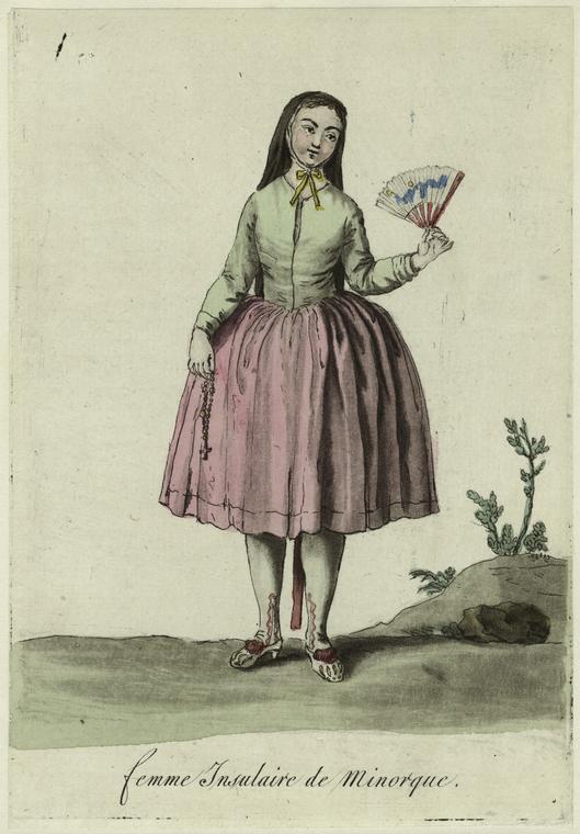Femme Insulaire de Minorque.