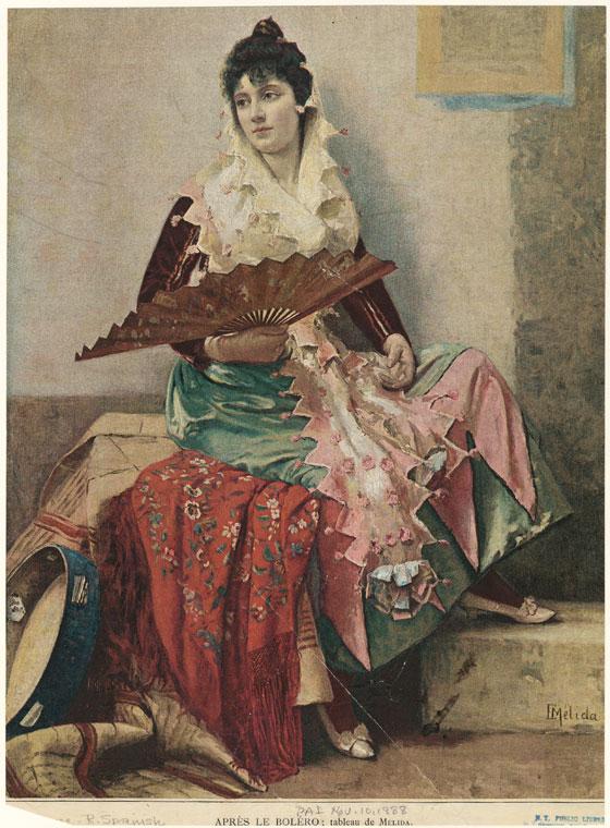 Fascinating Historical Picture of Enrique M?lida y Alinari on 11/10/1888