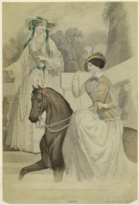 An equestrian fashion plate.