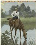 [Woman in riding clothes