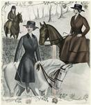[Woman in riding attire,