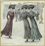 Women in skating costumes