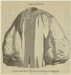 A Muslin Night-Dress, With Yoke And Trimmings Of Heavy Piqué.