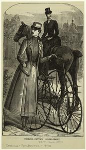 Cycling-costume ; Riding-habit.