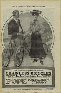Chainless bicycles, two-speed gear, coaster brake.