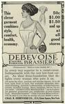 Debevoise Figure Forming Brassière.