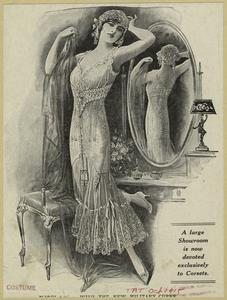 A large showroom is now devoted exclusively to corsets.
