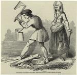 French Carpenter And Maidservant - Medæval Types.