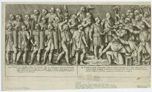 [Dacians asking Trajan for clemency, the Second Dacian War, 105-106.]