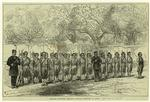 English Officers Drilling Chinese Soldiers At Amoy.