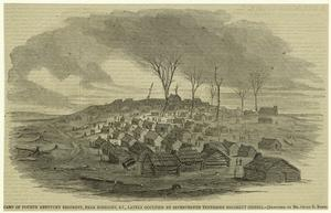 Camp of Fourth Kentucky Regiment, near Somerset, KY., lately occupied by Seventeenth Tennessee Regiment (Rebel).