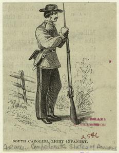 South Carolina light infantry.