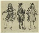 Officier général (1670) ; Officier d'infanterie (1703) ; Lieutenant aux gardes (1683)