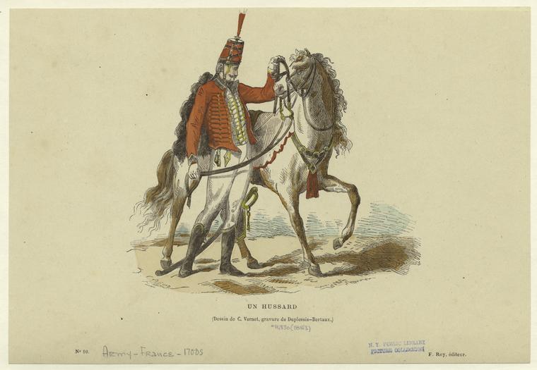 Un hussard.