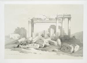 Portion of the eastern portico, Baalbec